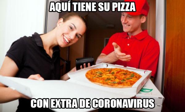 Coronavirus a domicilio: Una finolier que trabaja en una pizzería con servicio a domicilio en Vitoria, nos explica los prácticamente inexistentes métodos de protección que la empresa les ha proporcionado