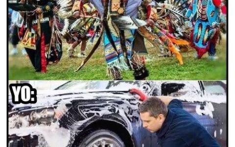 Qué tiempos aquellos cuando podía lavar el coche...