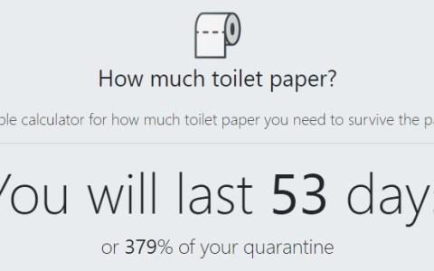 HowMuchToiletPaper.com: La web que te dice cuánto te va a durar el papel de váter que tienes en casa