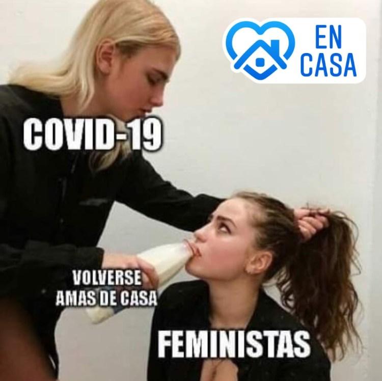 El coronavirus refuerza valores patriarcales