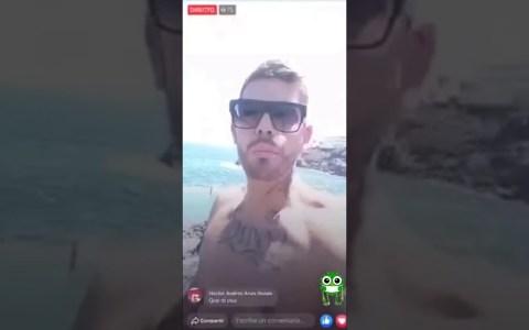 """""""Al que le pique, que se rasque"""": se salta la cuarentena en Tenerife y lo emite en directo por Instagram"""