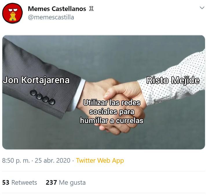 Jon Kortajarena sufriendo durante 2 horas porque los de Glovo no le traen una tortilla... háztela tú, ¡membrillo!