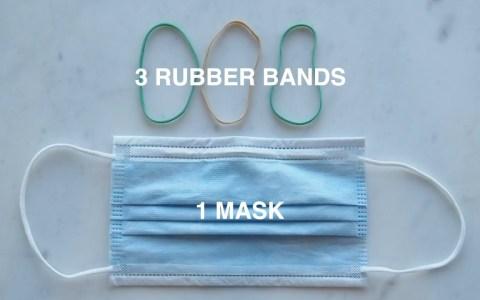 Cómo mejorar el sellado de las mascarillas quirúrgicas