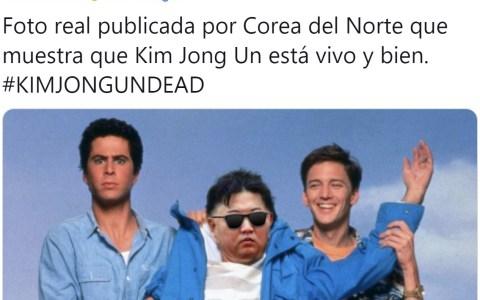 ¿No os parece un poco raro que Kim no salga a la palestra para demostrar que está vivo?