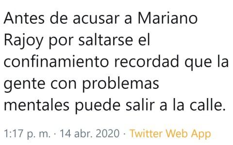 Quizás hemos sido demasiado duros con Mariano Rajoy...