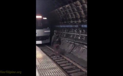 Haré un backflip en la vía del metro, ¿qué podría salir mal?