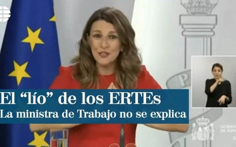 Parodiando la explicación de los ERTES de la ministra de trabajo