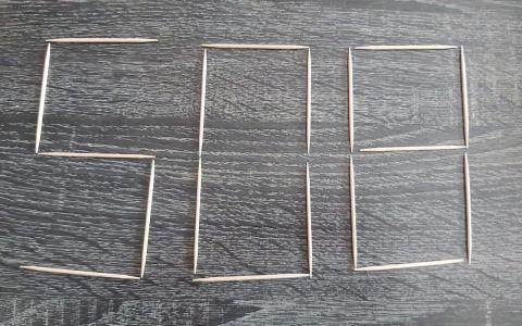 Moviendo solo dos palillos ¿Cuál es el número más alto que puedes formar?