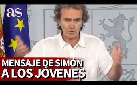 EL mensaje de Simón a la gente que hace corrillos por las calles