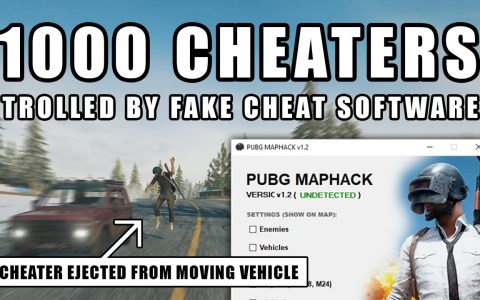 Este crack ha creado unos chetos falsos para el PUBG que trolean a la gente que se los descarga.