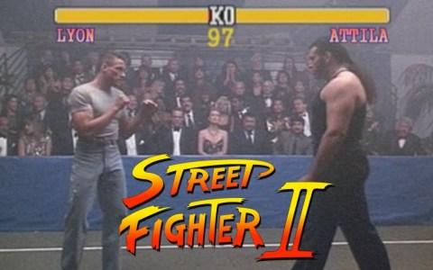 Street Fighter con Van Damme de carne y hueso