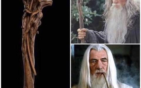 ¿Sabías que la pipa de Gandalf forma parte de su bastón?