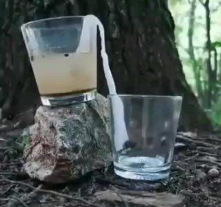 Una técnica de filtrado sencilla y original
