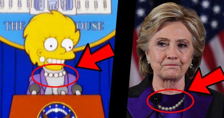 ¿Están Los Simpson adelantándonos quién será el próximo presidente de EEUU?