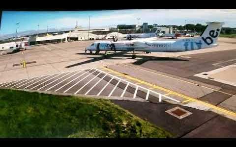 Tragedia a cámara lenta: dos aviones chocan muuuy leeeentameeenteee por un fallo del personal de pista