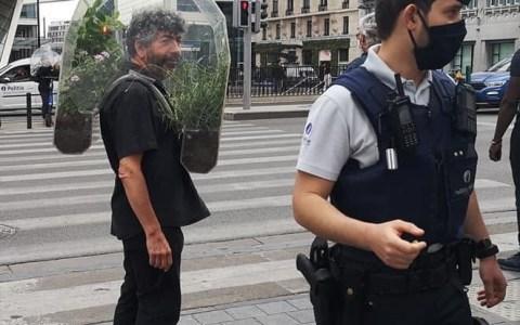 Un casco para vivir en Madrid pero respirar como en la sierra