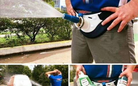 Lava tu coche como un auténtico macho alfa
