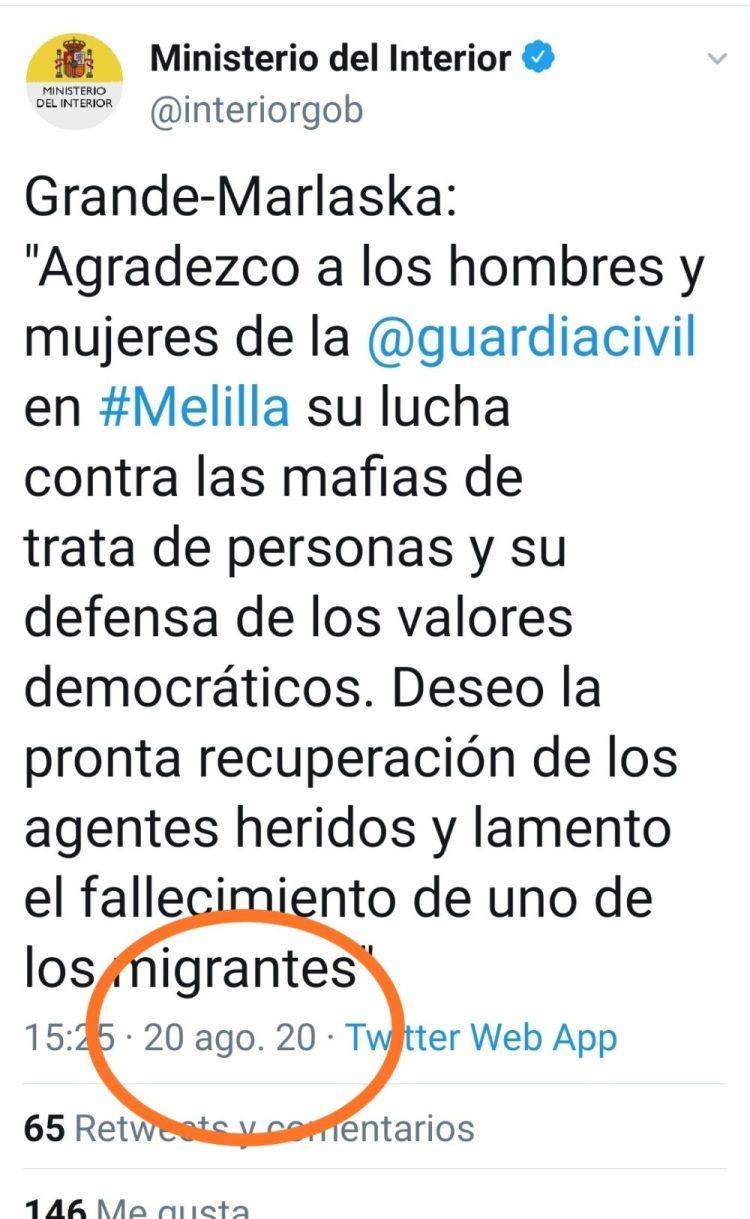 Motín en el CETI de Melilla
