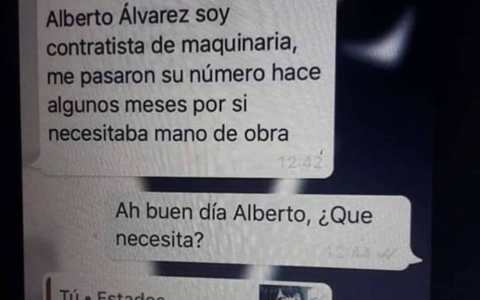 Alberto está desesperado