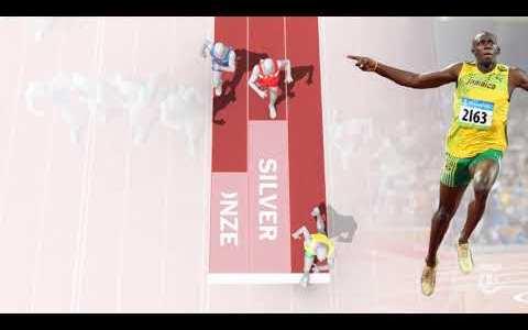 ¿Cómo de superior es Usain Bolt comparado con el resto de medallistas de la historia?