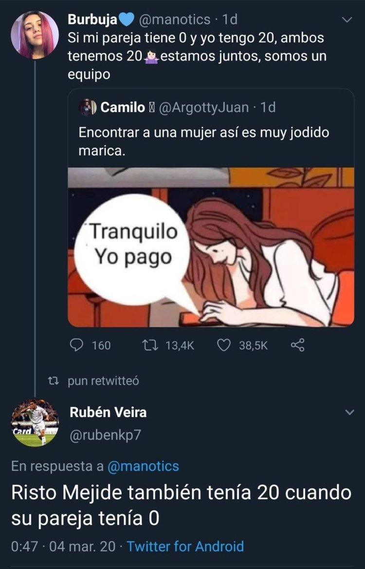 Buen remate de Rubén Veira.