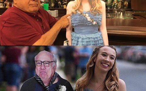 Se imprime un Danny DeVito a tamaño real para su boda, y cuando el actor se entera, se imprime a la novia para llevársela al pub