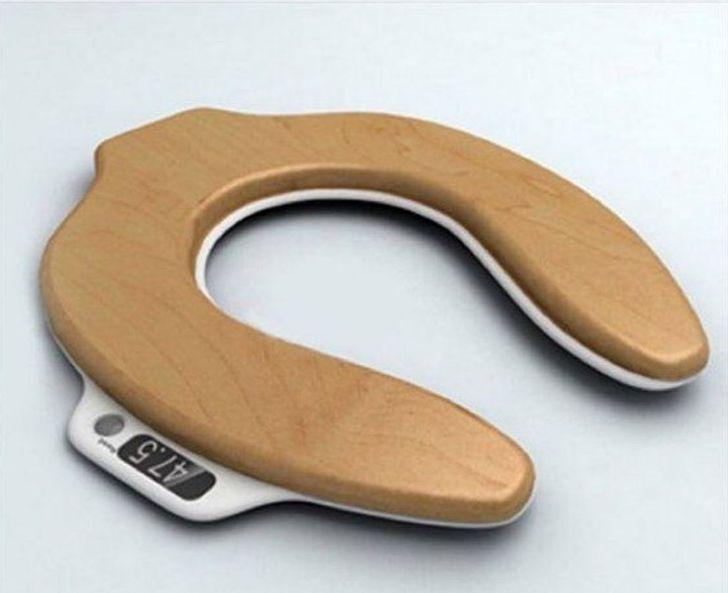 El asiento para el WC que te dice cuánto peso has perdido después de evacuar
