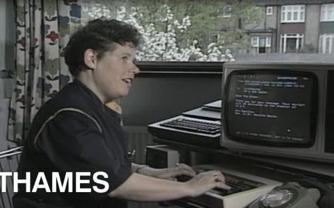 Cómo enviar un e-mail en 1984