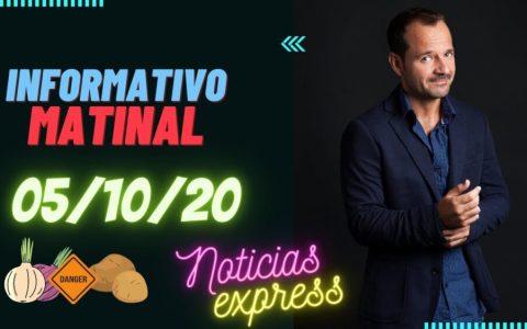 Informativo matinal 05/10/2020