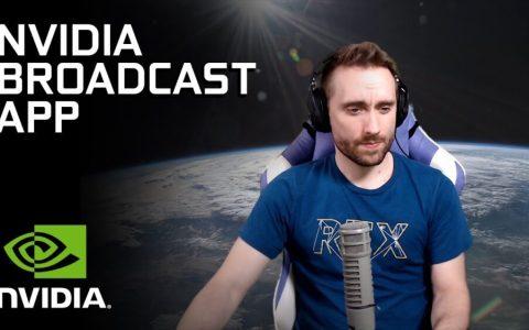 NVidia Broadcast permite disfrutar del efecto de un croma, pero sin usar croma