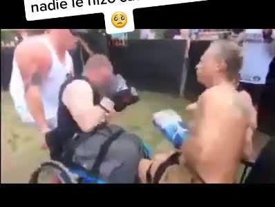 <del>Kick</del>Boxing en silla de ruedas