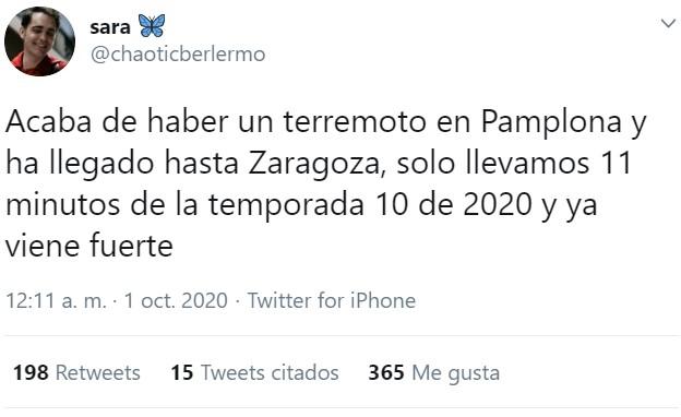 Terremoto de 4.4 grados en Pamplona hace unos minutos