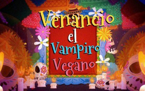 Un finolier que vio los pinitos de Morgan Freeman como Vampiro vegano, se ha venido muy arriba y ha creado una canción: VENANCIO EL VAMPIRO VEGANO