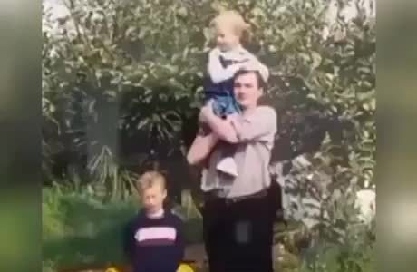 Fotos en familia antes vs ahora
