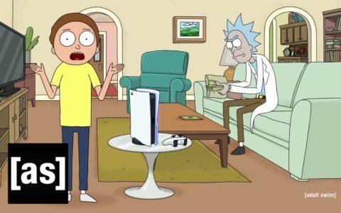 """""""Rápido Morty, habla de la consola que nos han pagado mucho"""""""