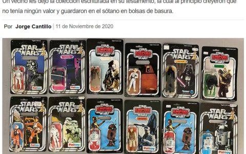 Casi tiran a la basura medio millón en figuras de Star Wars