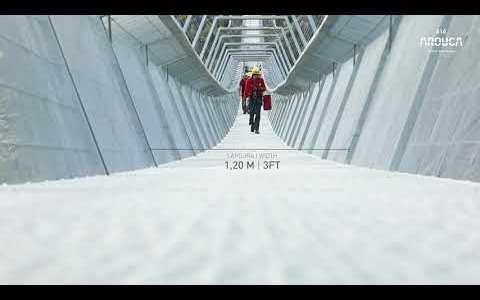 En breve se abrirá al público el puente colgante peatonal más grande del mundo, y está a solo 3 horas de Vigo