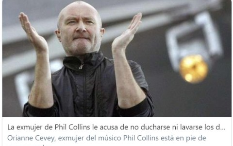 Breaking News: Phil Collins es otaku