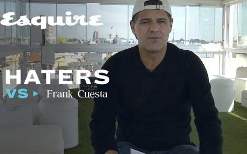 Frank Cuesta respondiendo a sus haters