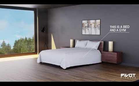 PIVOT: La cama que se convierte en gimnasio