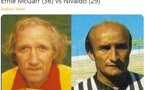 La cuenta de Twitter que recopila a futbolistas de los 80 que envejecieron mal