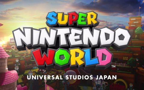 La buena noticia: en febrero de 2021 abre SUPER NINTENDO WORLD