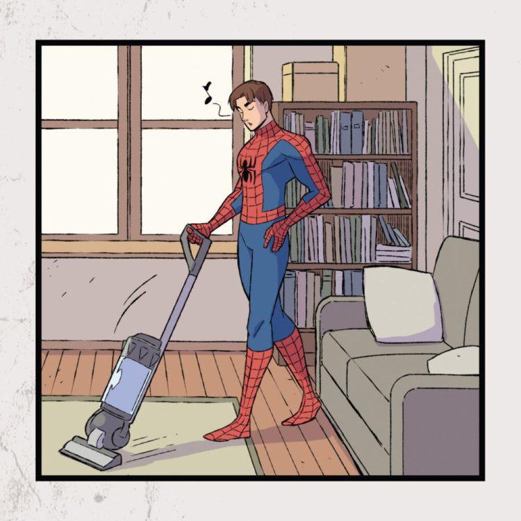 Los superhéroes también son humanos
