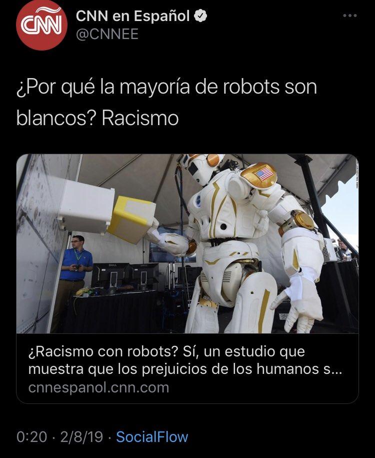Racismo robótico