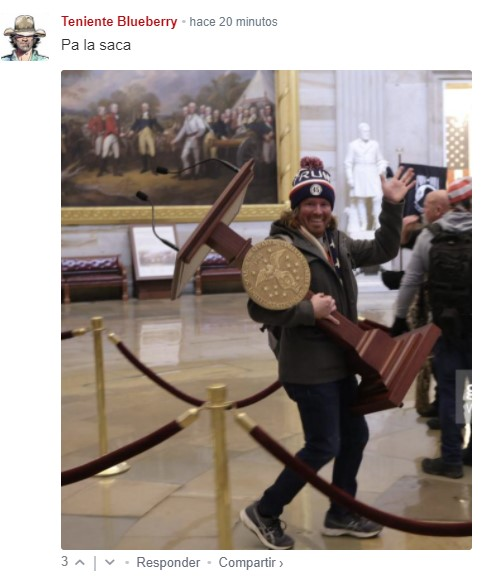 Ratificación de Biden, en vivo | Decenas de manifestantes irrumpen en el Capitolio azuzados por Trump