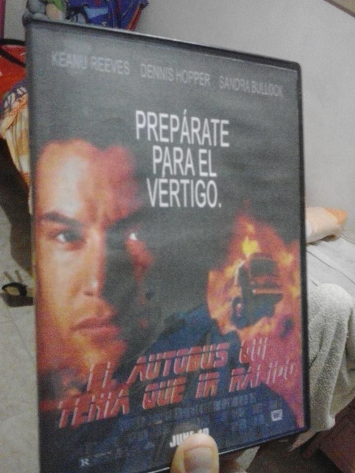 """Hombre, """"Speed"""" en la España de los 90 tampoco era un título perfecto... para qué nos vamos a engañar..."""