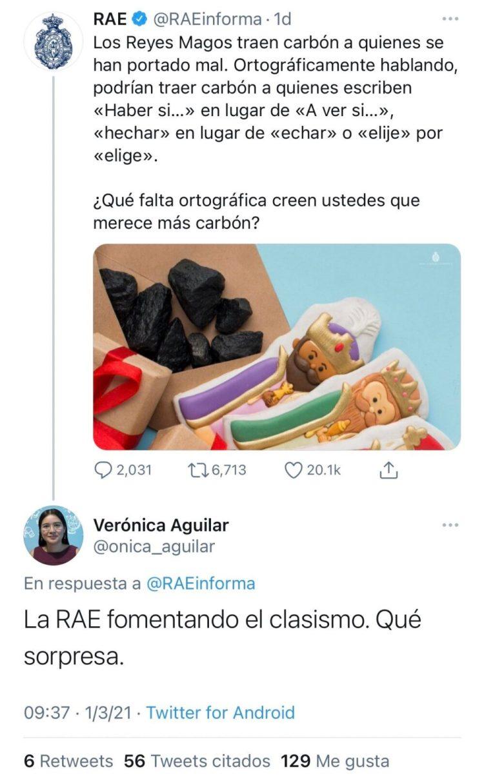 La RAE es clasista