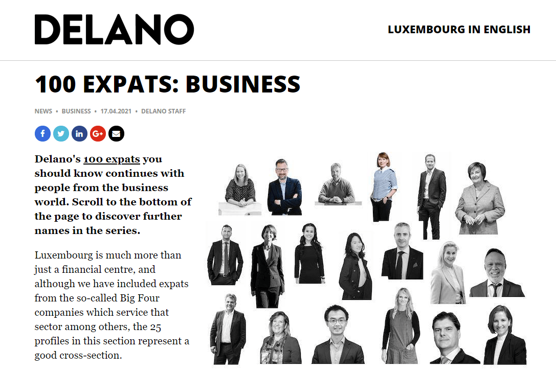 100 EXPATS: BUSINESS