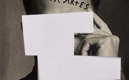 Descartes/ Recorte de páxina impresa/ 28,5×22,3cm / 2018