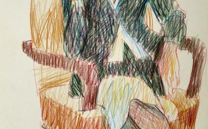 Catalina / Lapis de cores sobre papel / 42×29 cm / 2007